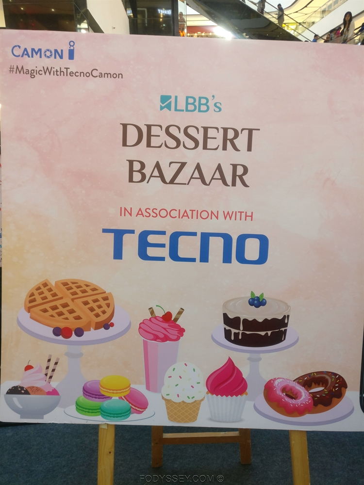 Dessert Bazaar event at VR Bengaluru