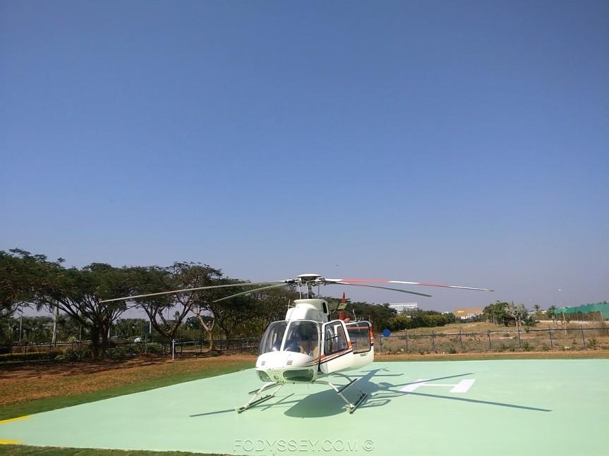 Heli Taxii takes off inBengaluru
